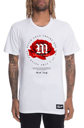 Born Greatness Rose Tee in White
