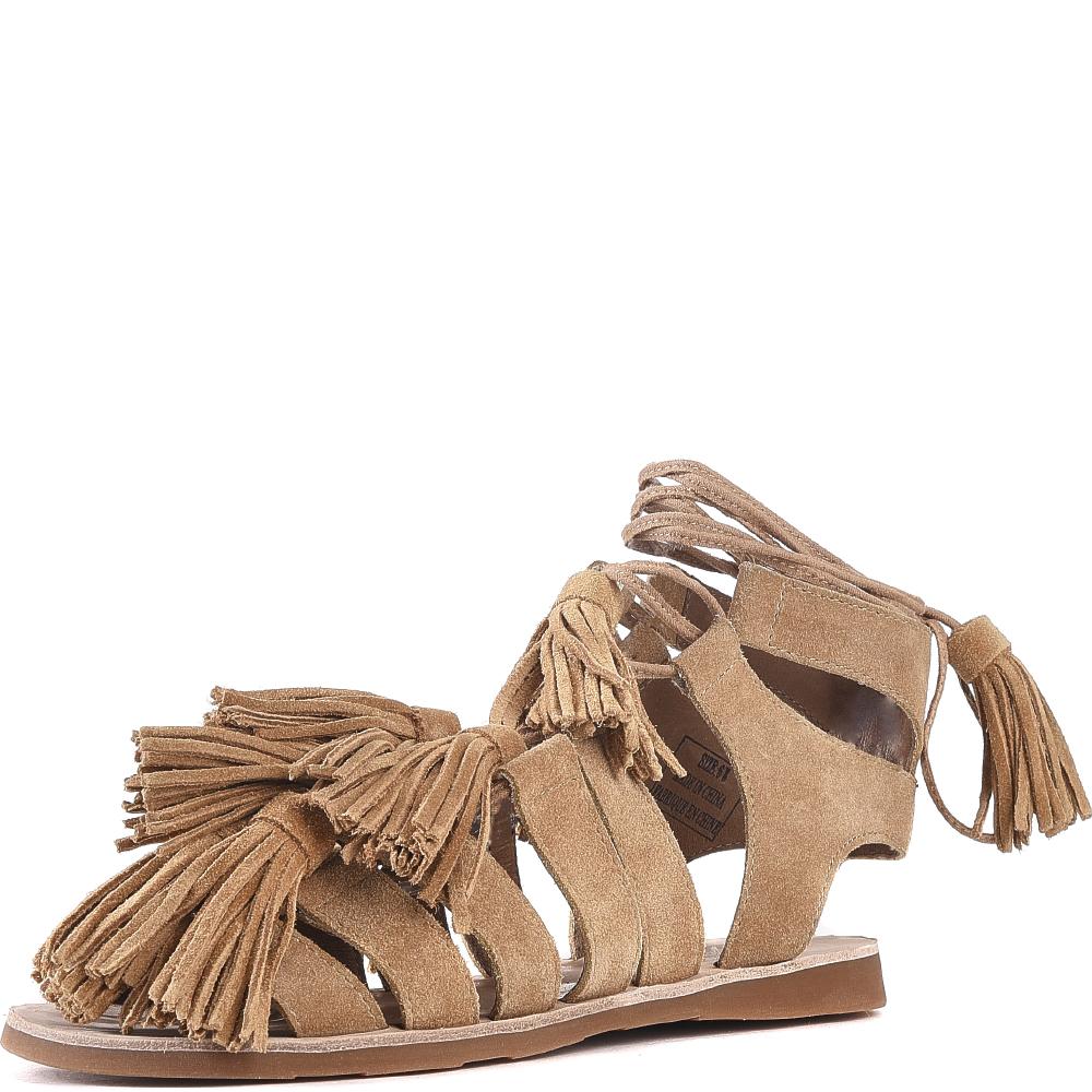 Jeffrey Campbell for Women: Malang Tan Sandals
