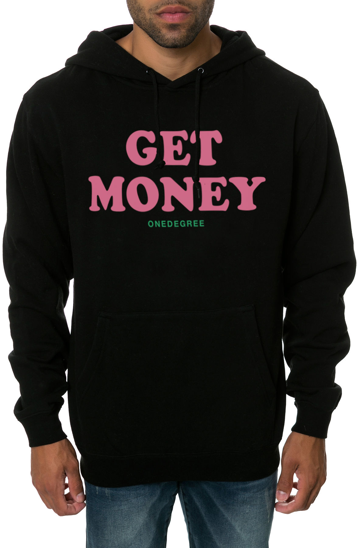 Image of The Get Money Hoodie in Black