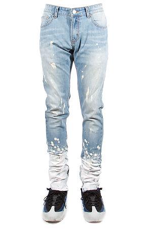 Image of 502 Splatter Zipper Jeans