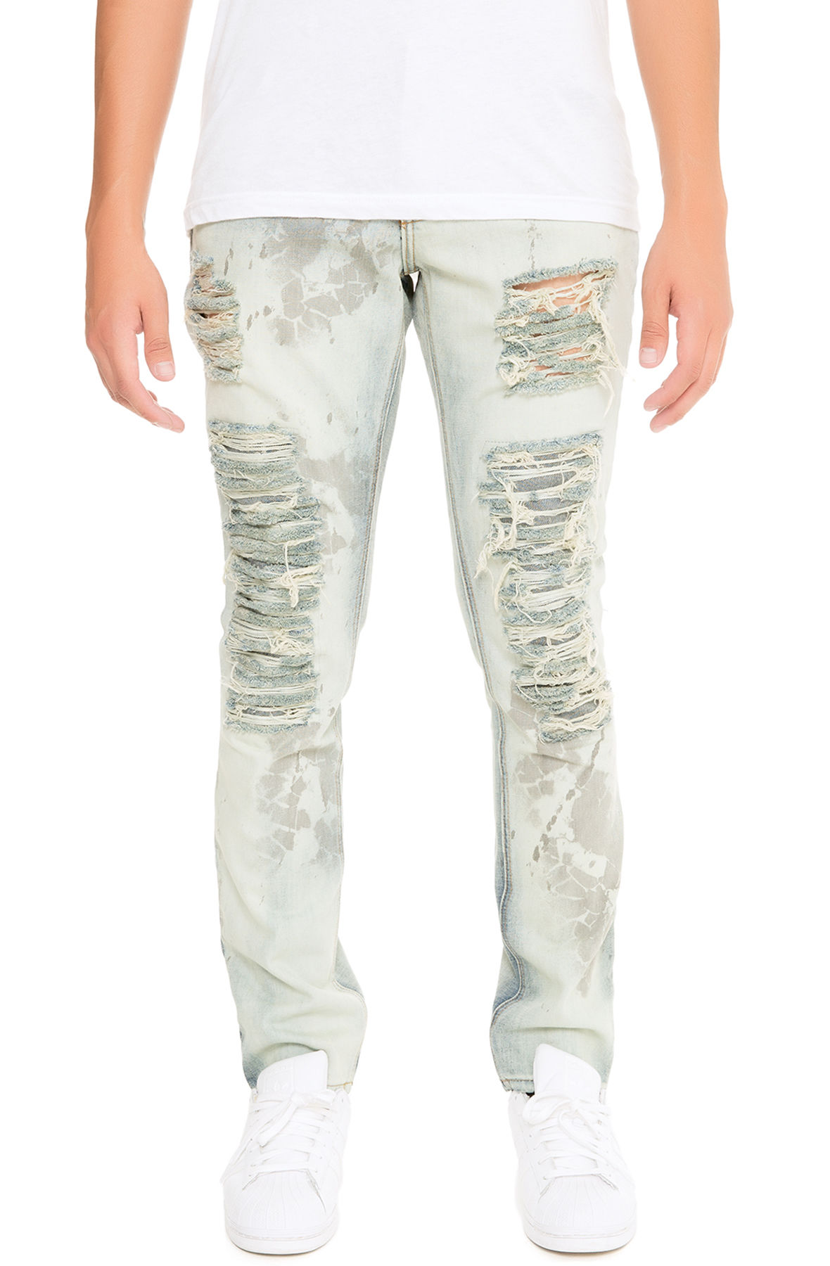 Image of The Cobain Denim Jeans in Greaser