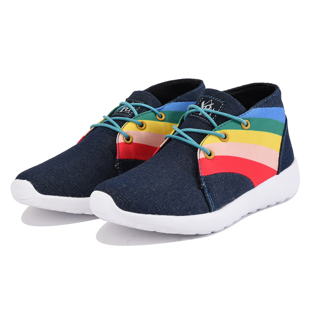 Image of Y.R.U. for Women: Beem Hi Denim Sneaker