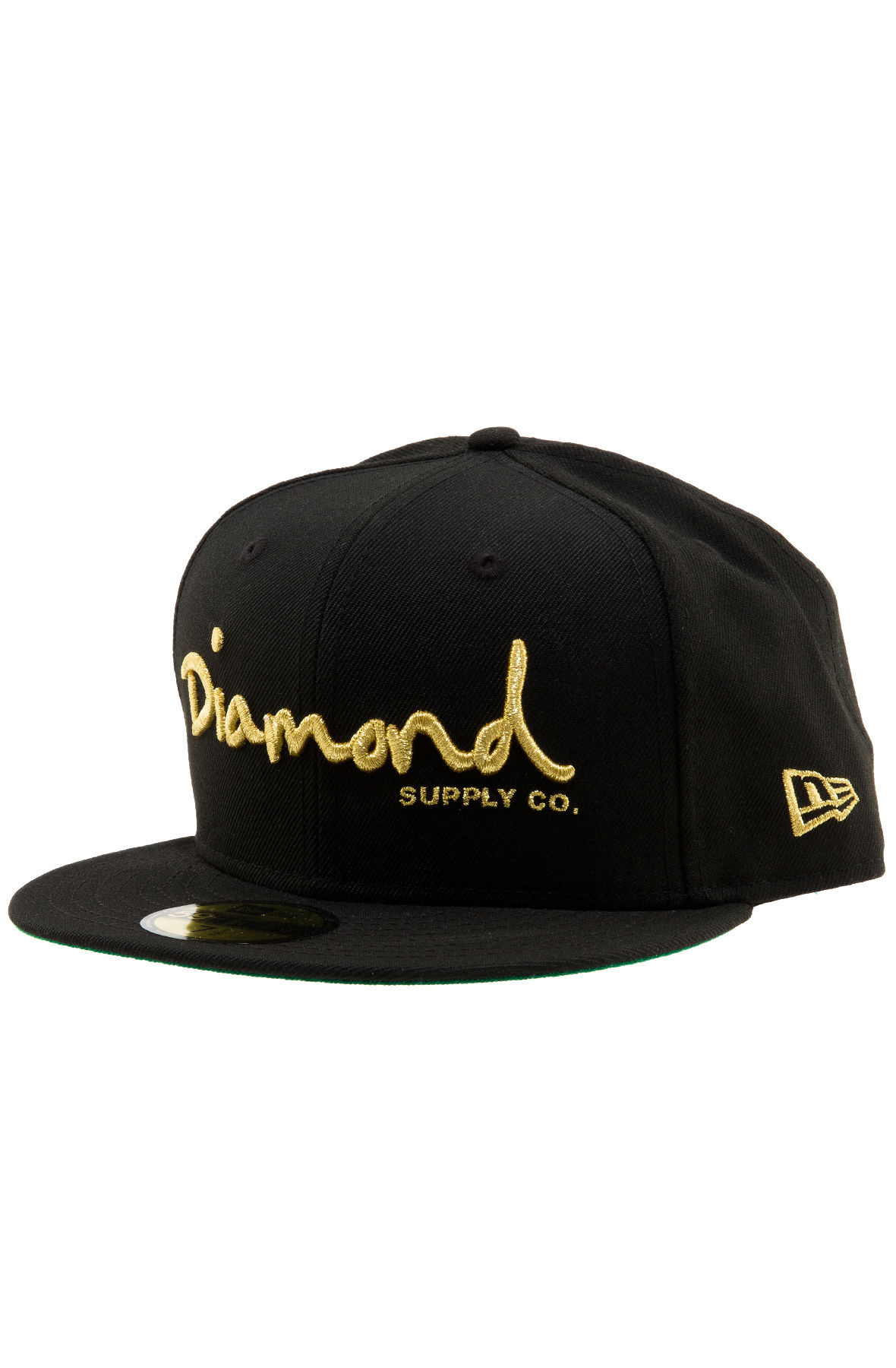 23222ea49f0 Diamond Supply Co. Hat OG Script Fitted Black