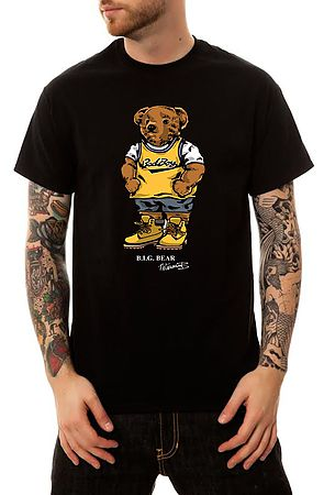 Image of The Biggie Bear T-Shirt in Black