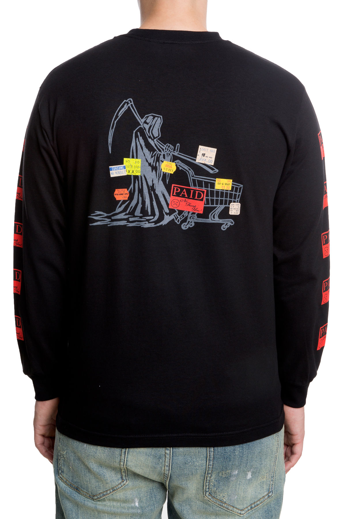 The Paid in Full L/S in Black
