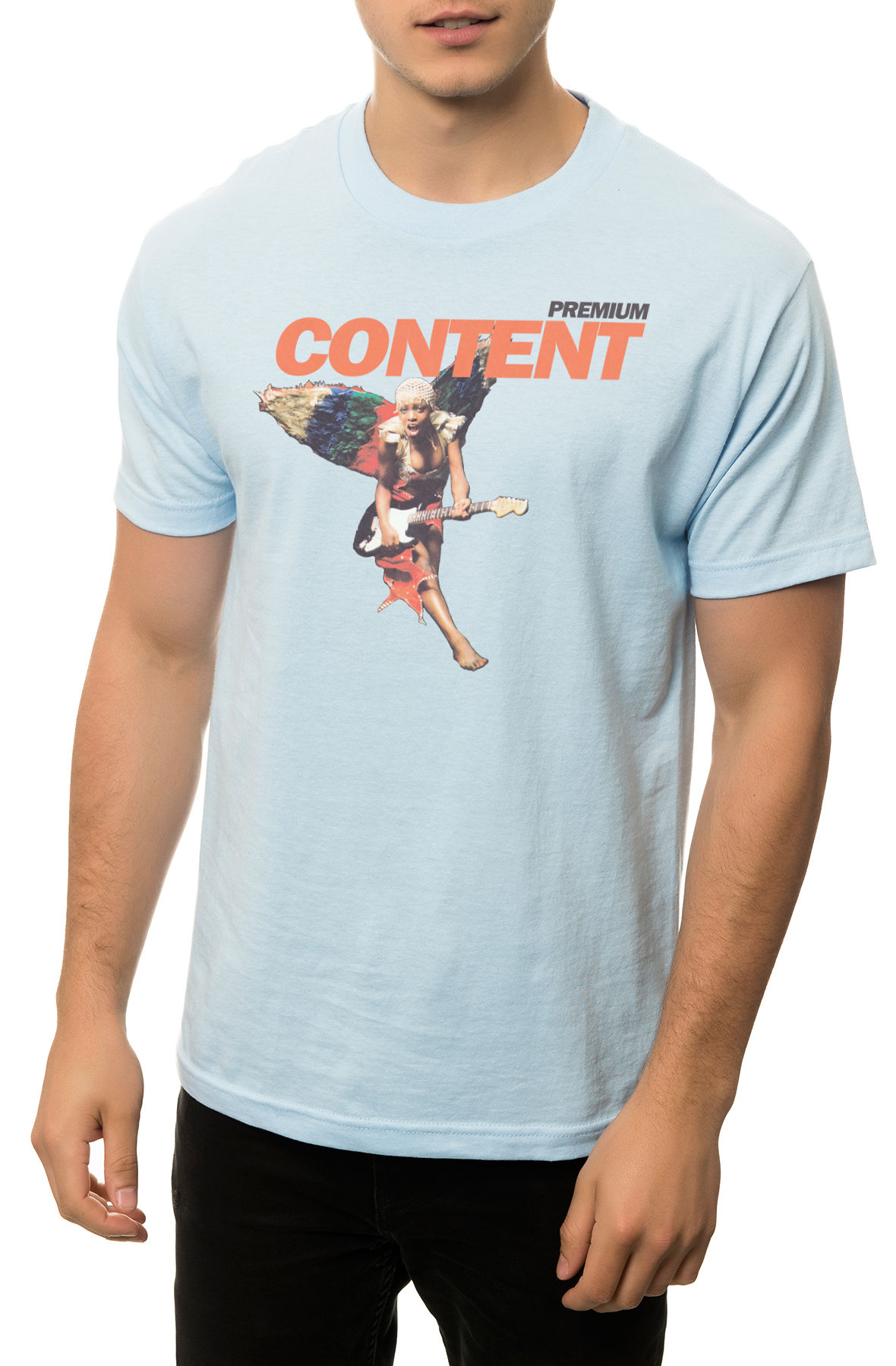 Image of The One Way Ticket Tee in Powder Blue