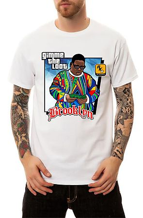 Image of The Notorious GTA T-Shirt in White