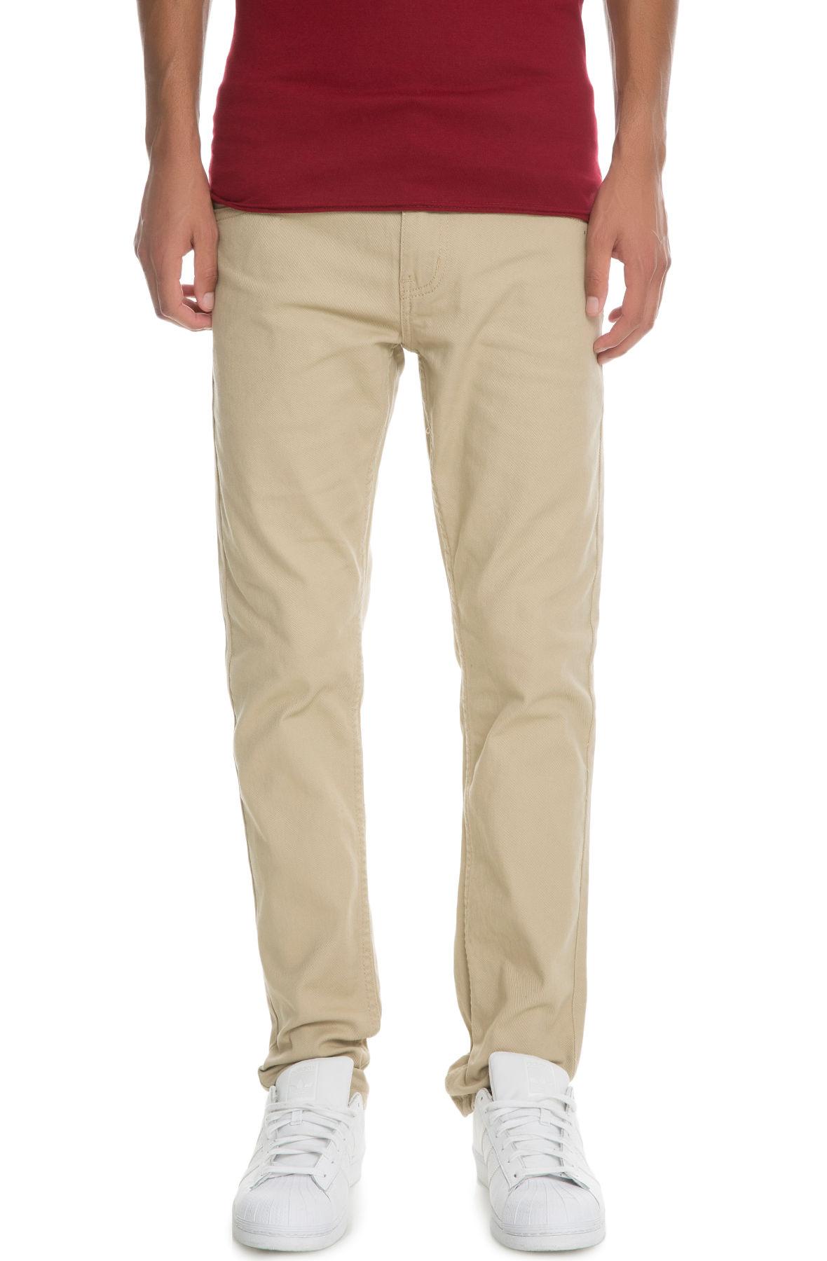 Image of The VB Basic Skinny Jeans in Khaki