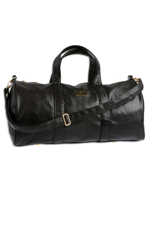Image of Mint Anaconda Duffle Bag ( Black )