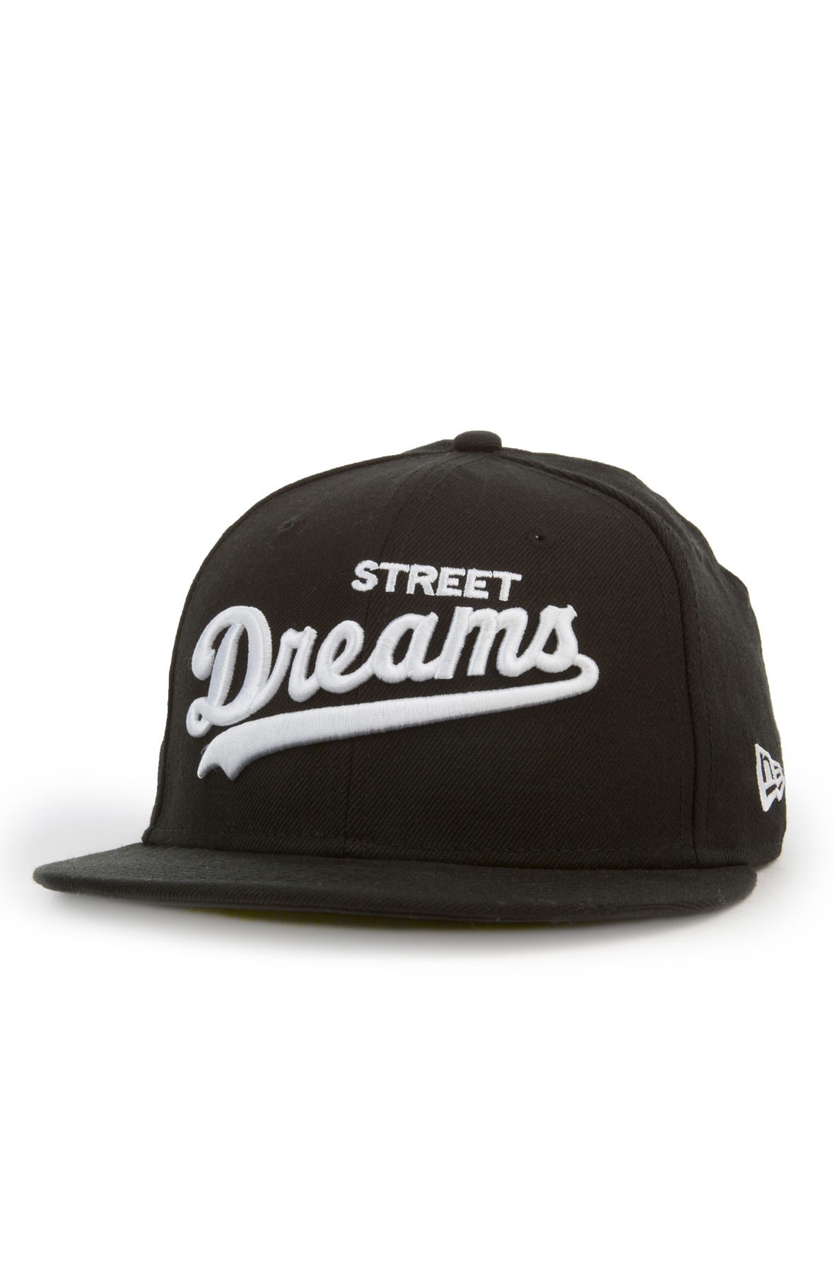 Image of Major League New Era Fitted Hat in Black