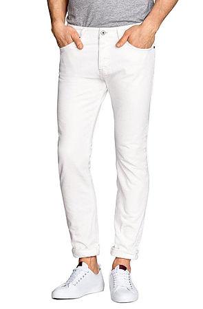 Image of White Denim Jeans