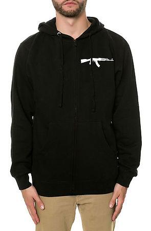 AK zip up hoodie