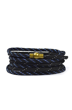 Image of Multi-wrap Paracord Bracelet in Midnight Blue
