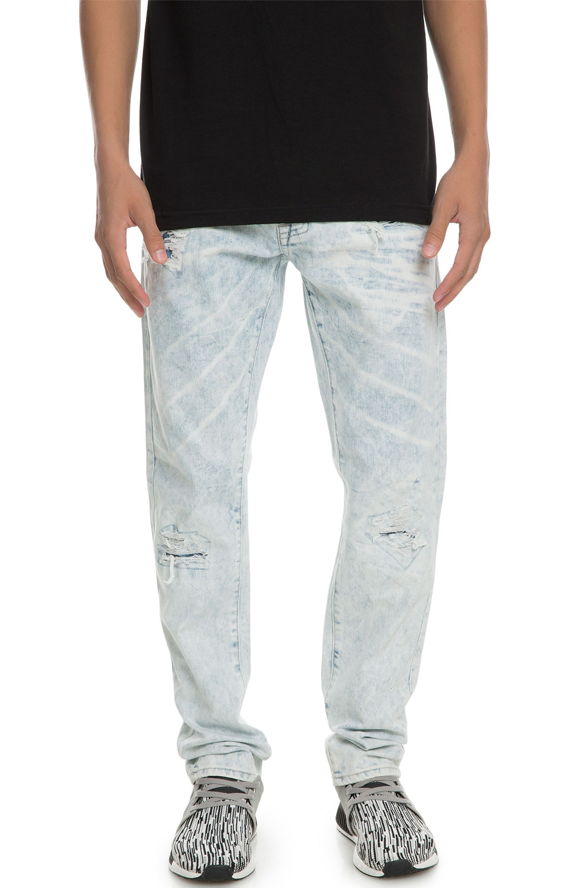 Image of The Dagger Slim Jeans in Arctic Ice Blue