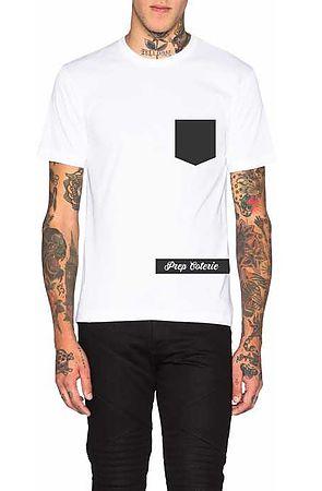 The Prep Coterie Pocket T-Shirt in White