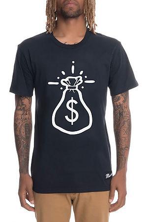 Get Money Bag Tee Navy