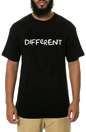 Image of Different Shirt in Black