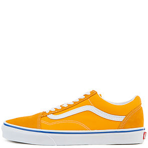 Image of Old Skool Suede Canvas in Orange