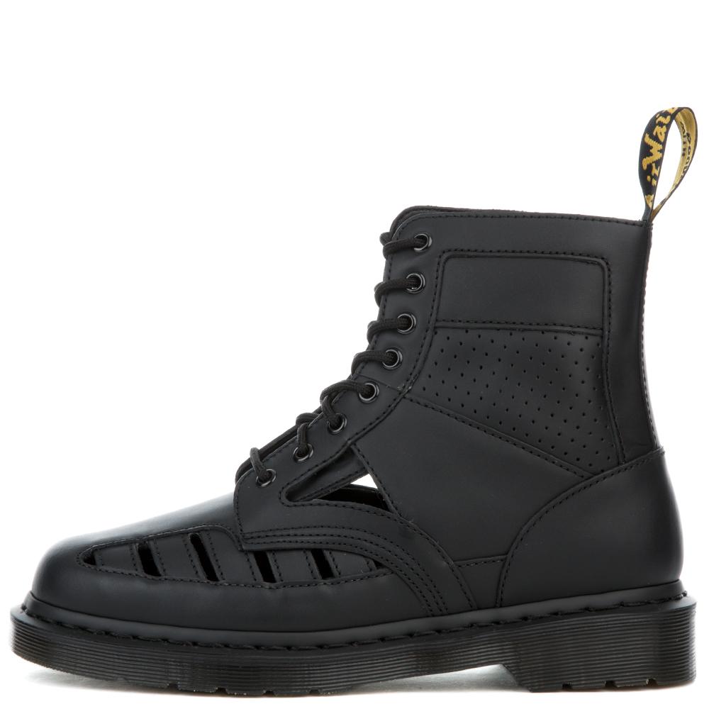 women's 1460 cut out black venice boots