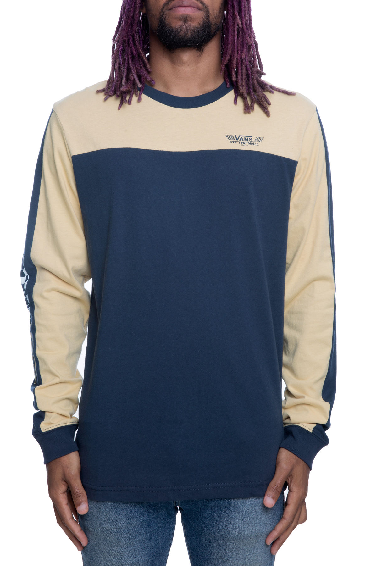 Image of The Crossed Sticks Jersey in Dress Blues