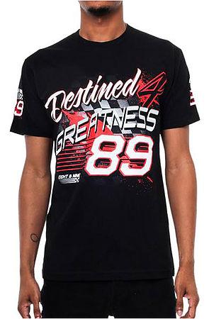 Greatness Racing T Shirt Black