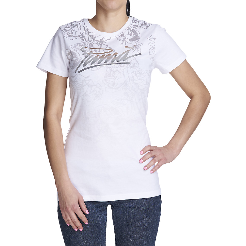 Image of Women's Floral Valentines Day Tee