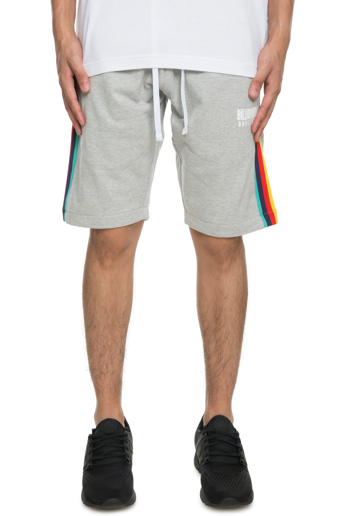 Image of The Billionaire Boys club ABA Shorts in Heather Grey