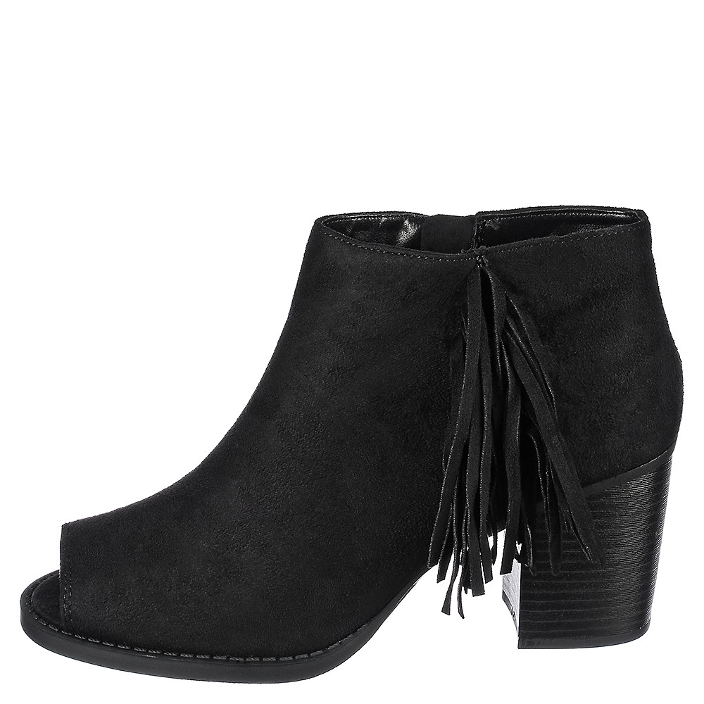Image of Women's Fringe Ankle Boot S-LS8895P