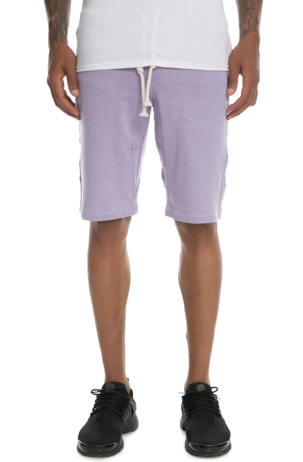 Image of The Laurencio Fleece shorts in Lavender