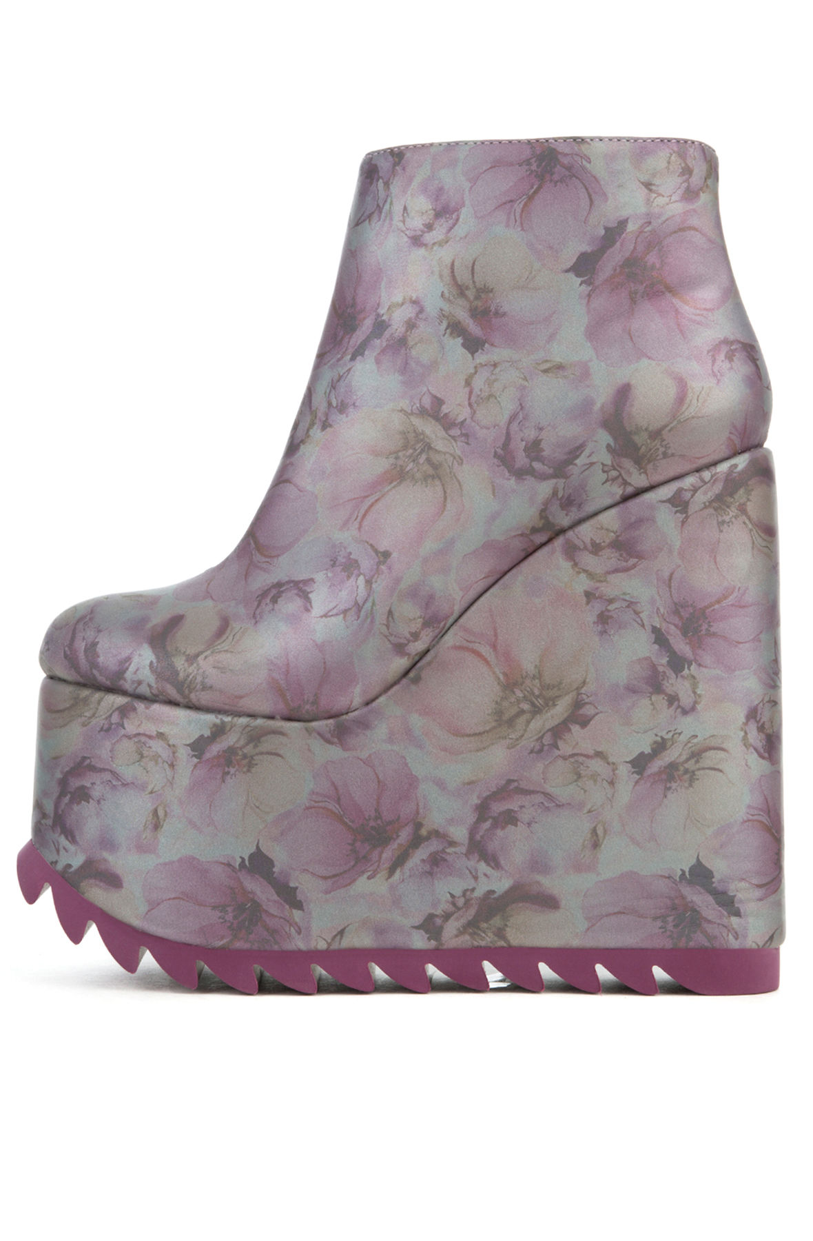 The Dimension Boot in Lavender Floral