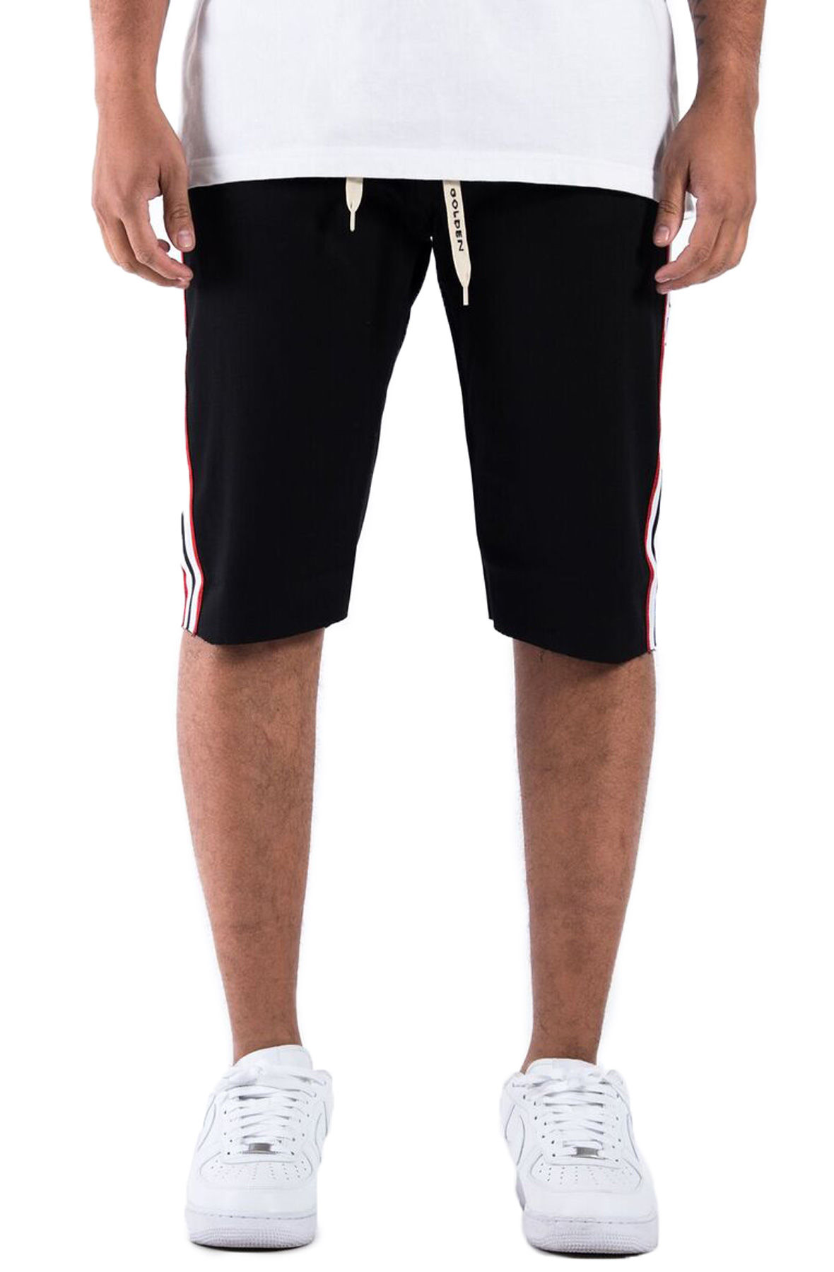 Image of The Union Hubert Track Shorts in Black