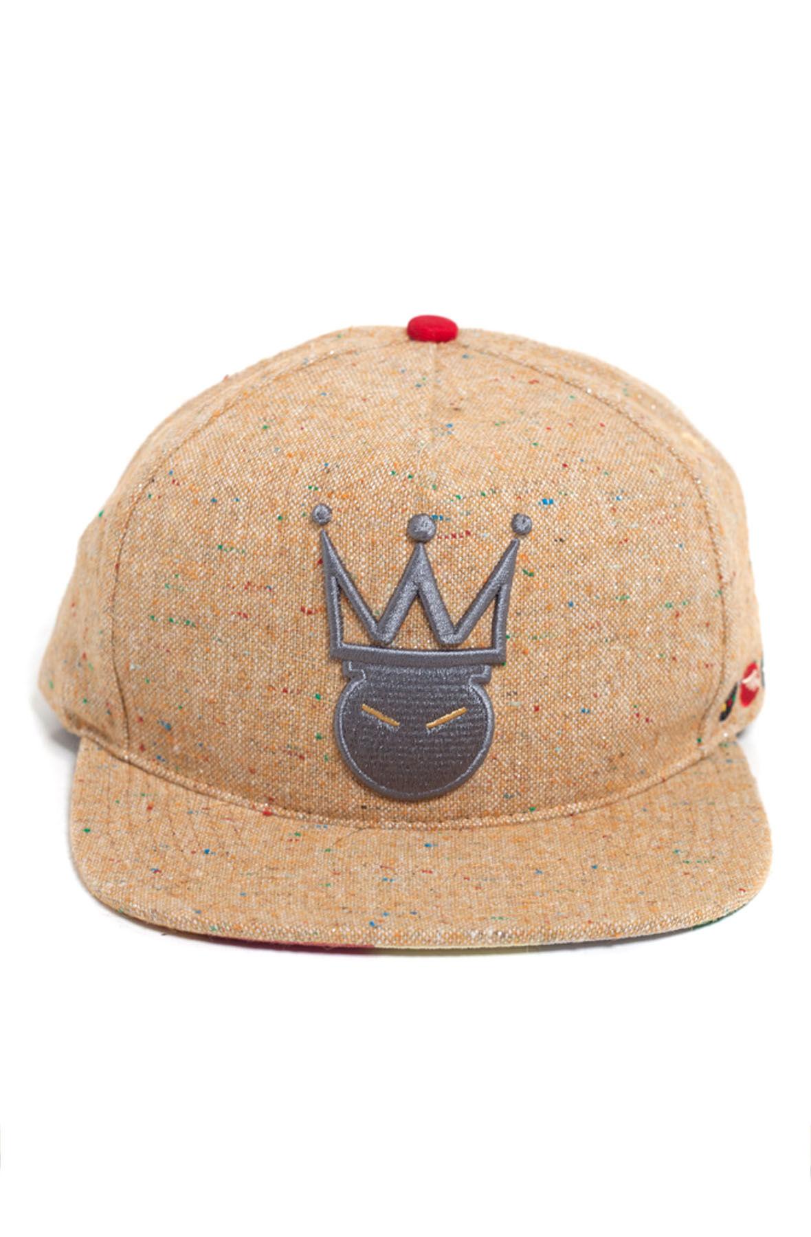 Image of King Me Fleck SnapBack- Mustard