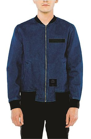 Image of Denim Bomber Jacket