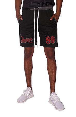 Image of Hooligans Vintage FC Shorts Black