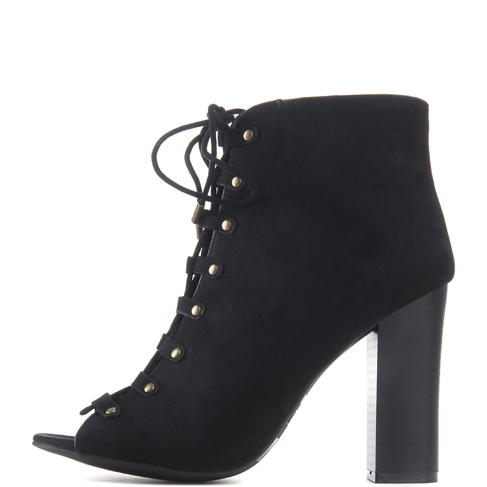 Image of Women's Embark-29M Lace-Up High Heel Ankle Boot