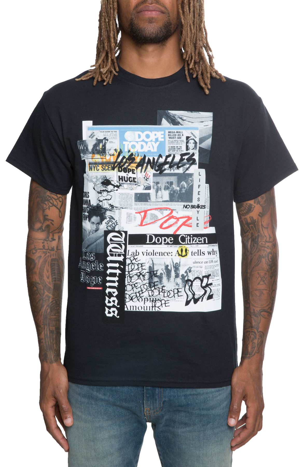Image of The Press Tee in Black