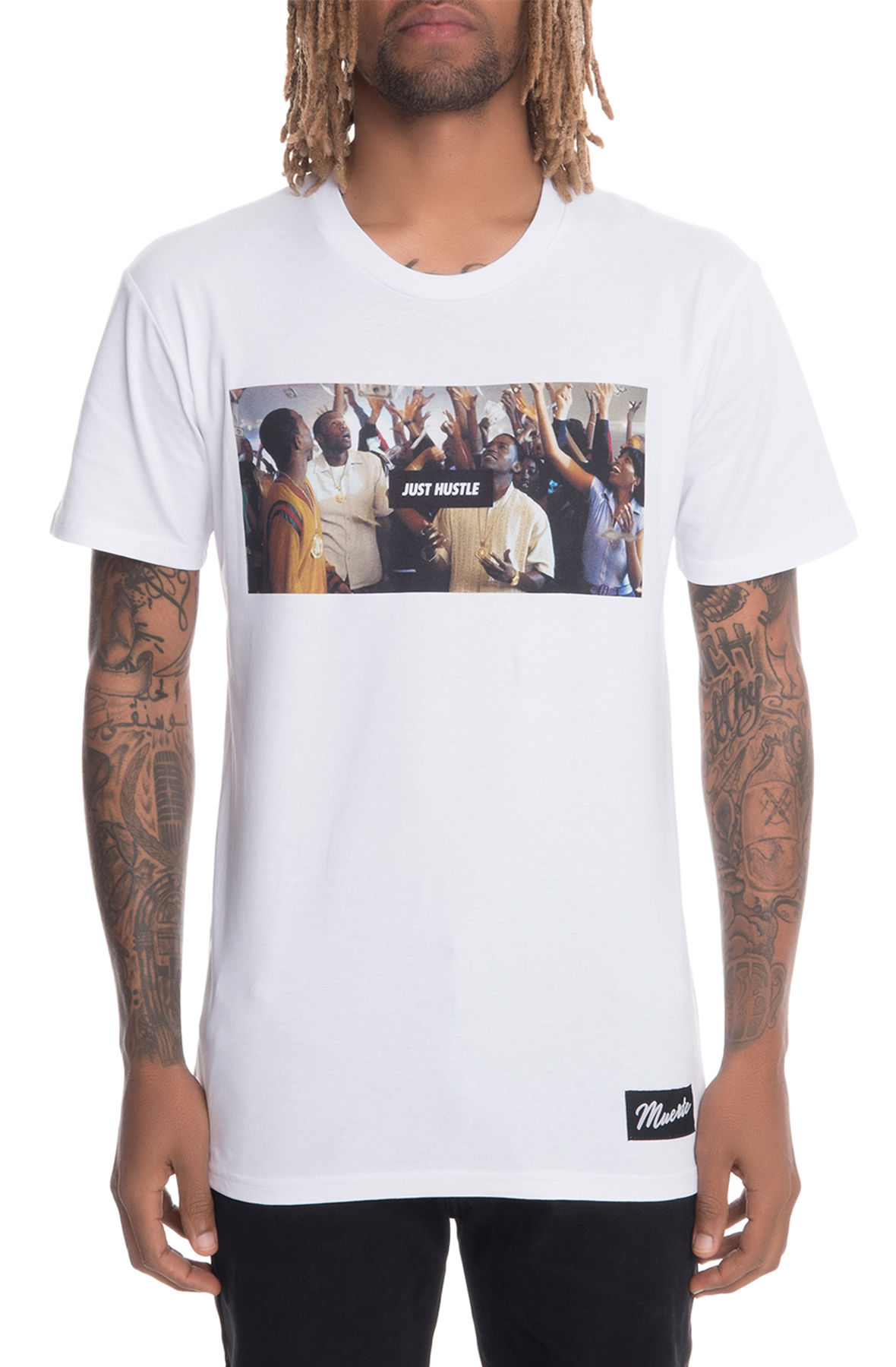 Image of The Paid In Full Short Sleeve Tee in White