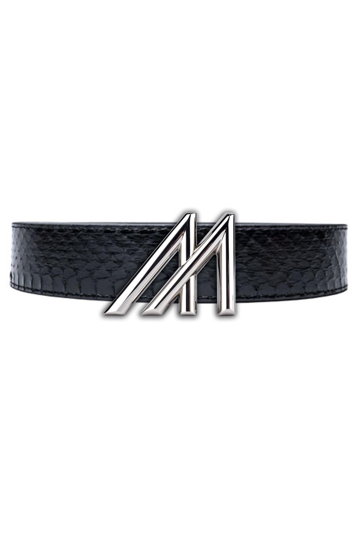 Image of Mint King Cobra Belt - Platinum M