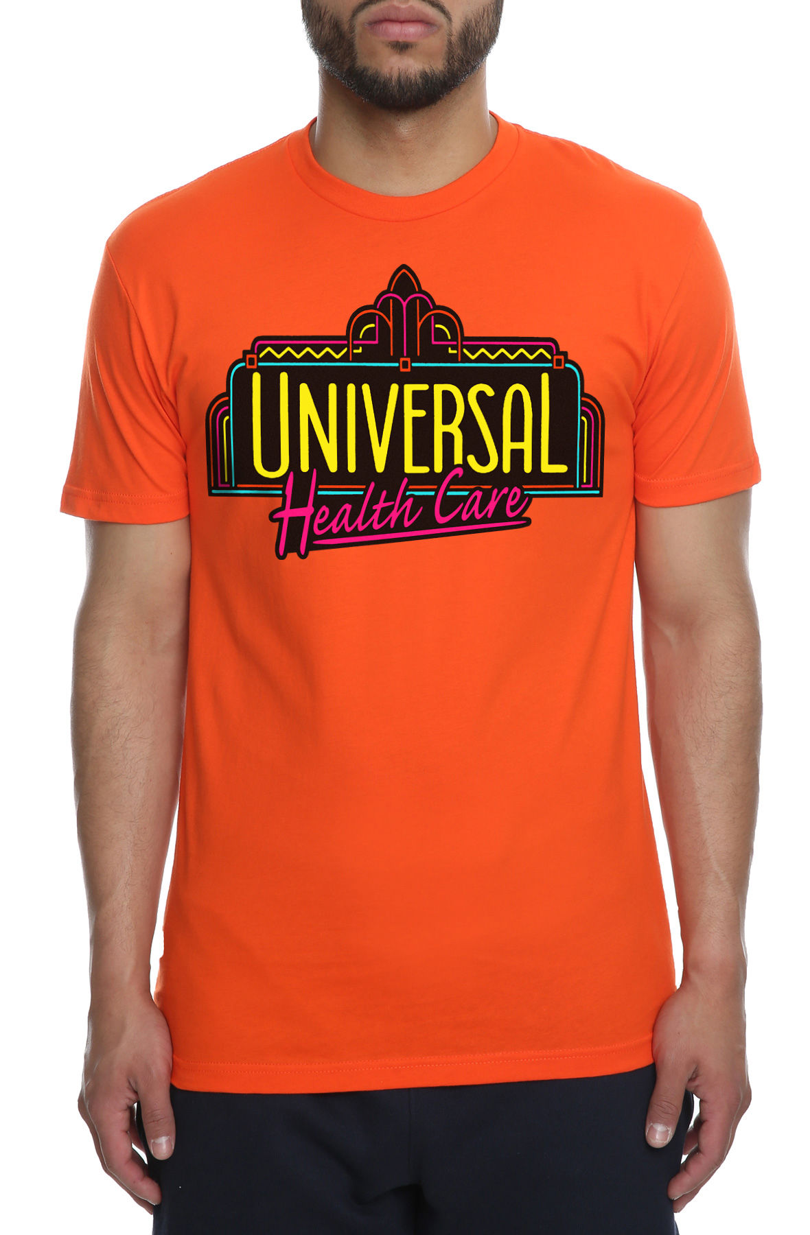 Image of The Universal Health Care Tee in Orange