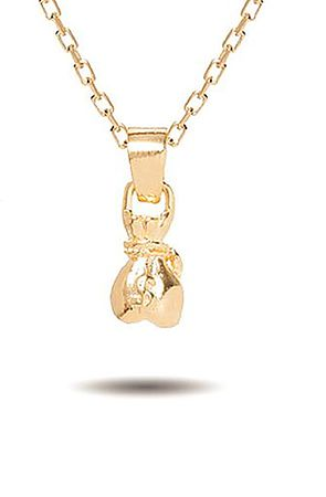 Image of The Money Bag Necklace- Gold