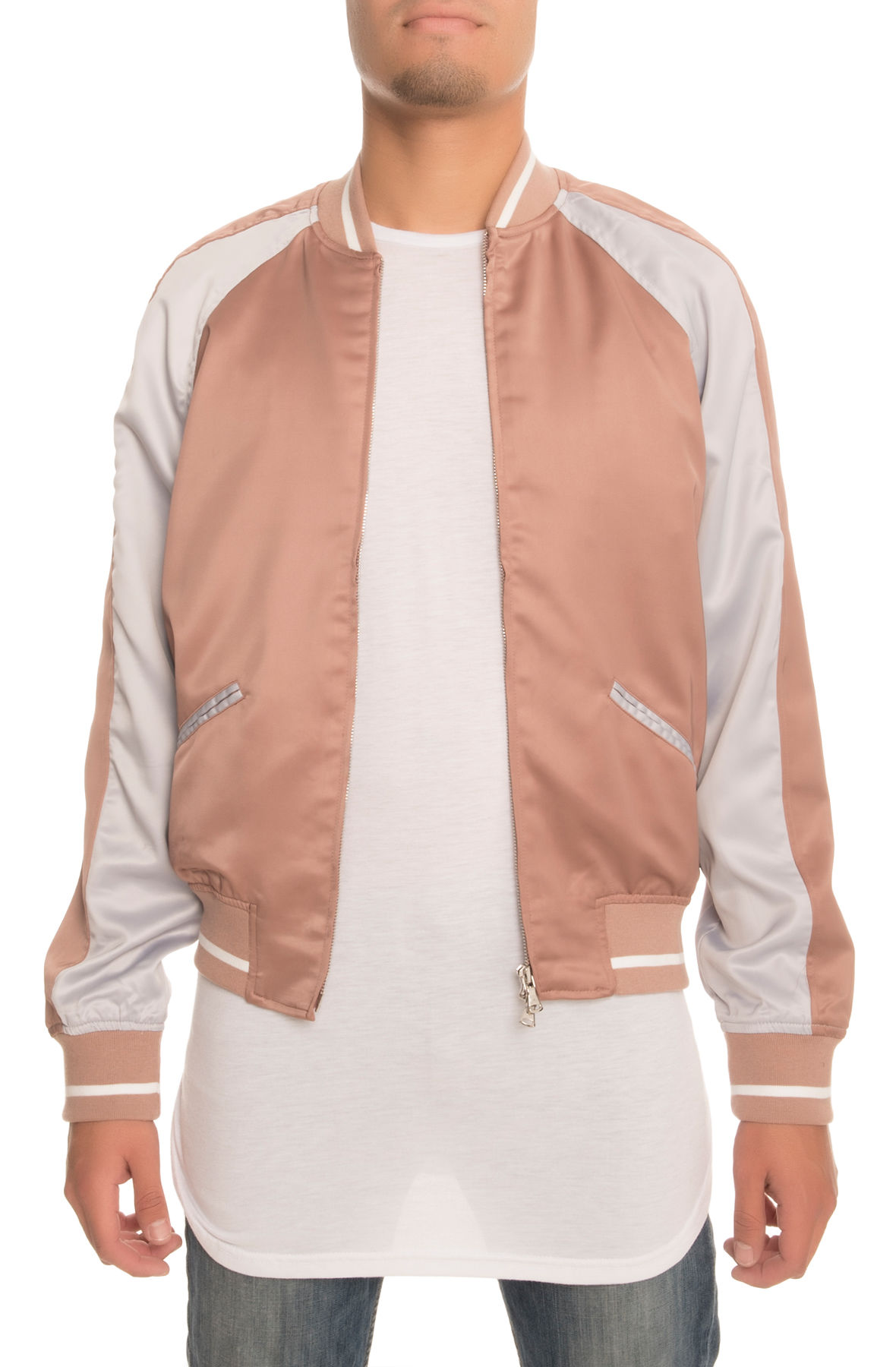 Image of The Strickland Souvenir Jacket in Champagne