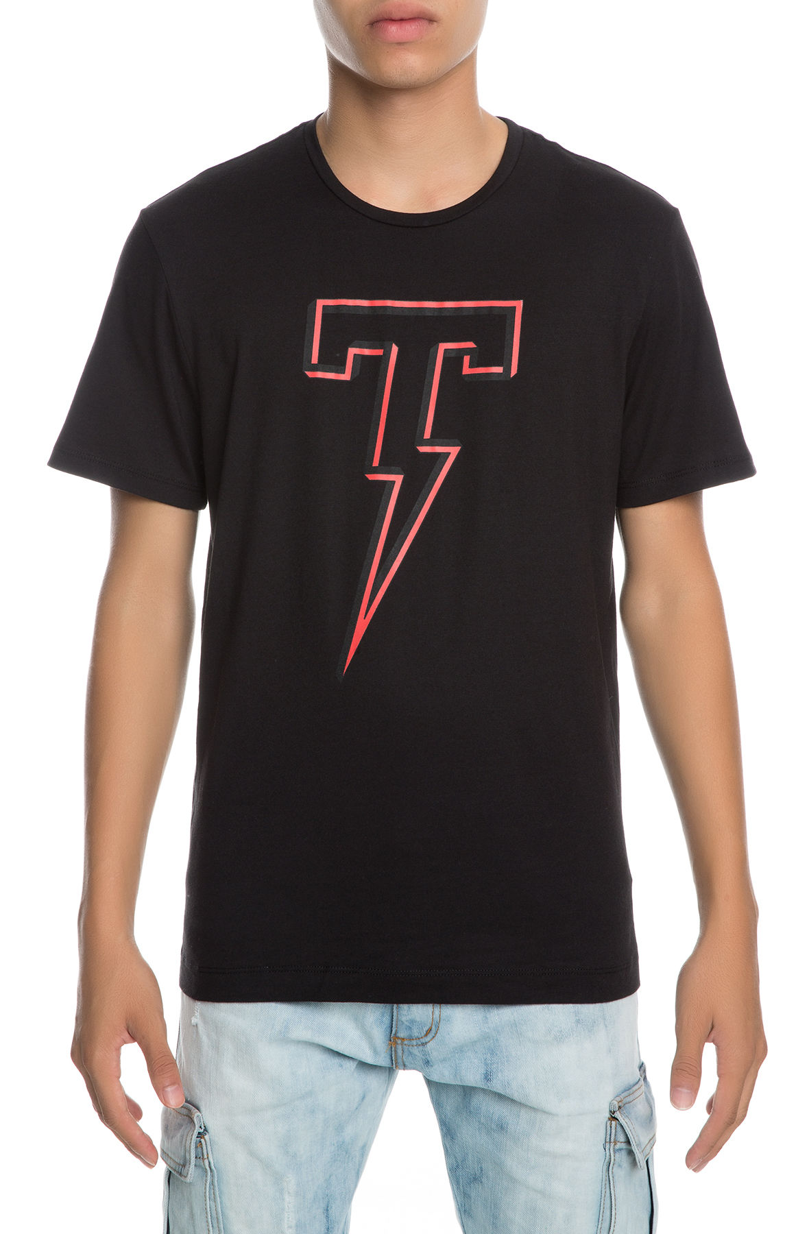 Image of The Shadowbox Short Sleeve Tee in Black