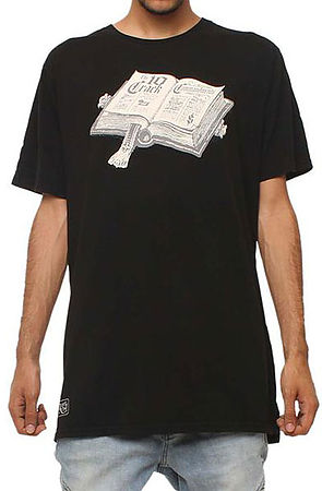 Image of The Commandments T-shirt in Black