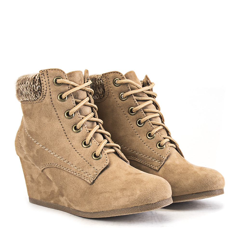 Women's Ankle Wedge Boot B-Ls2652a