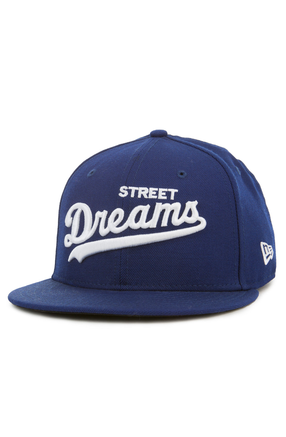 Image of Major League Fitted Hat in Blue
