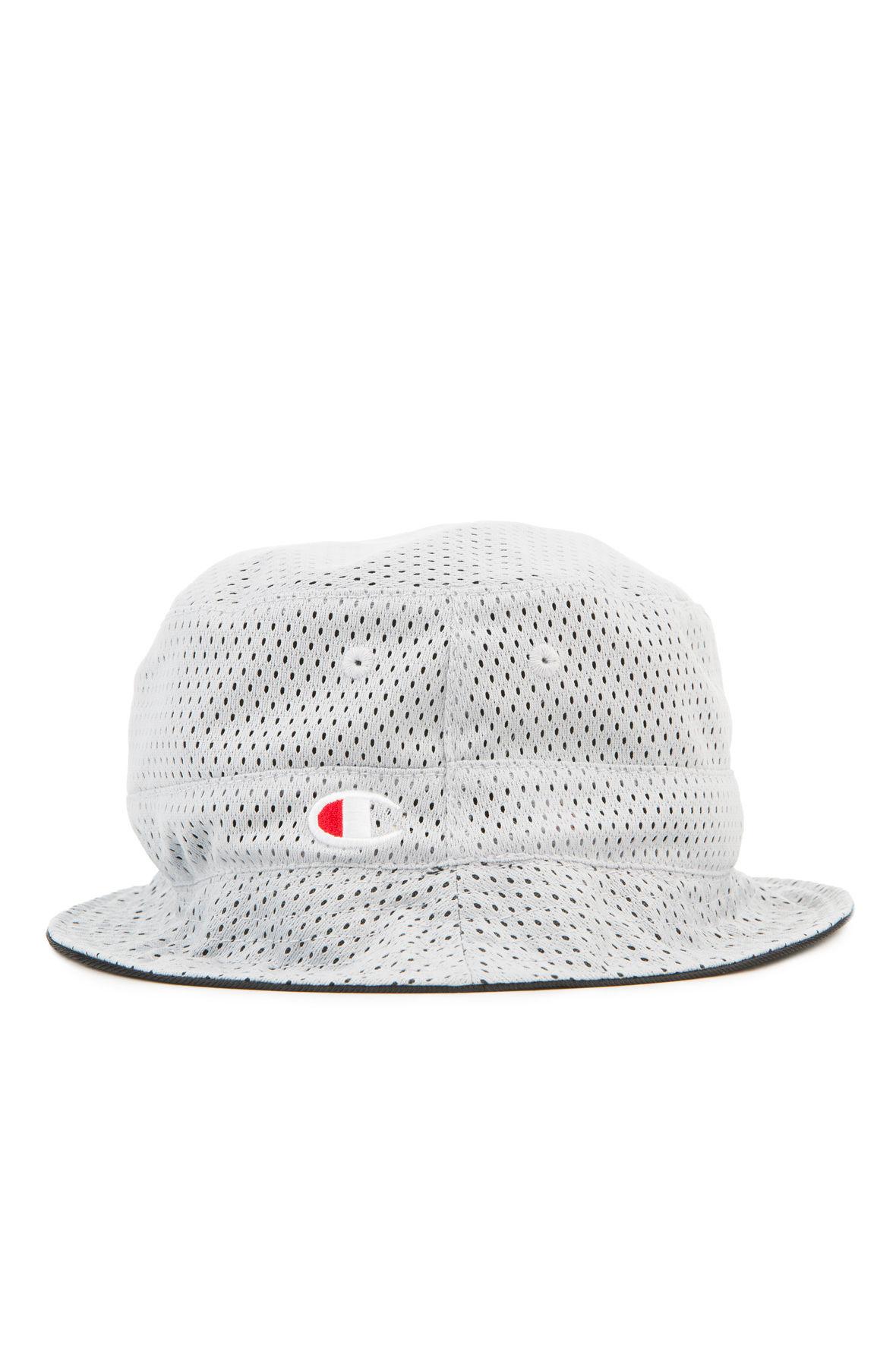 Champion Hat Reversible Mesh Bucket Grey 1e216b11b38