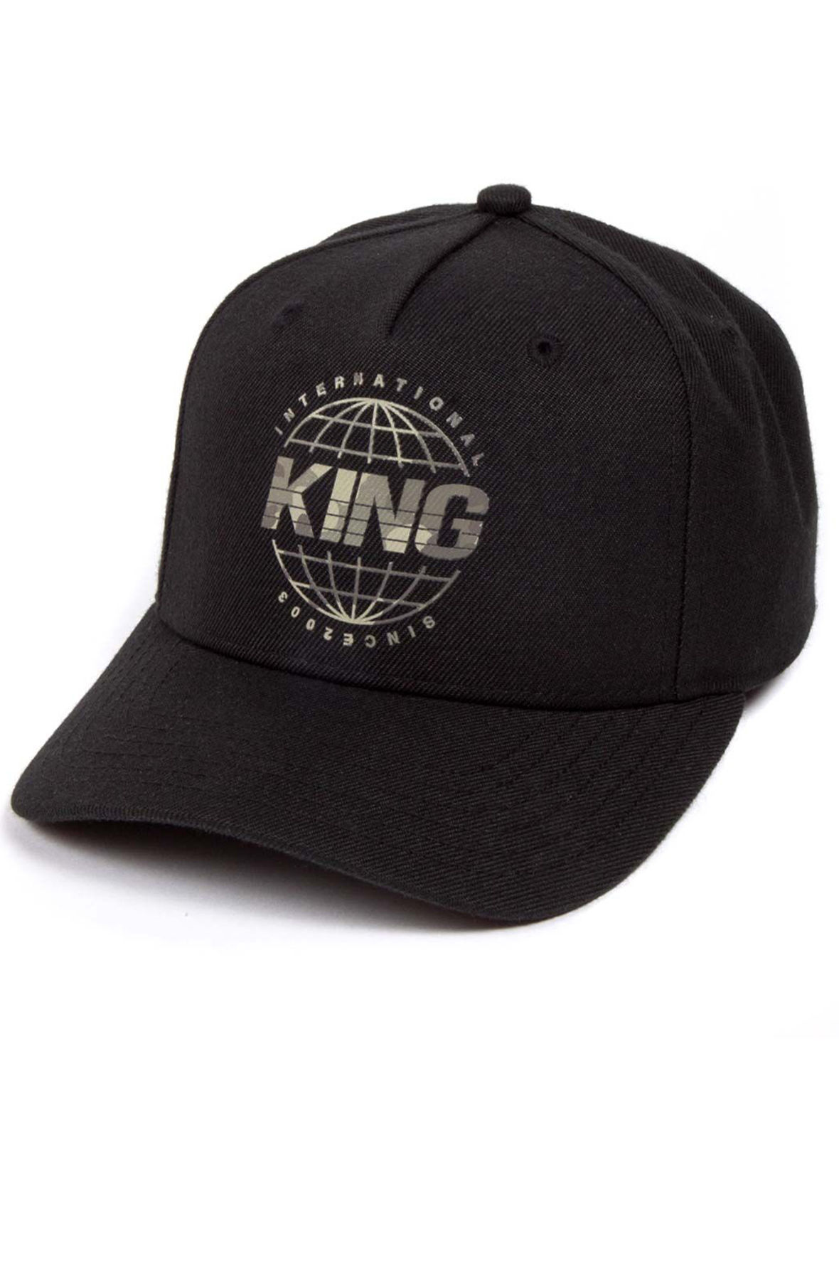 Image of Bethnal Curve Peak Cap Black