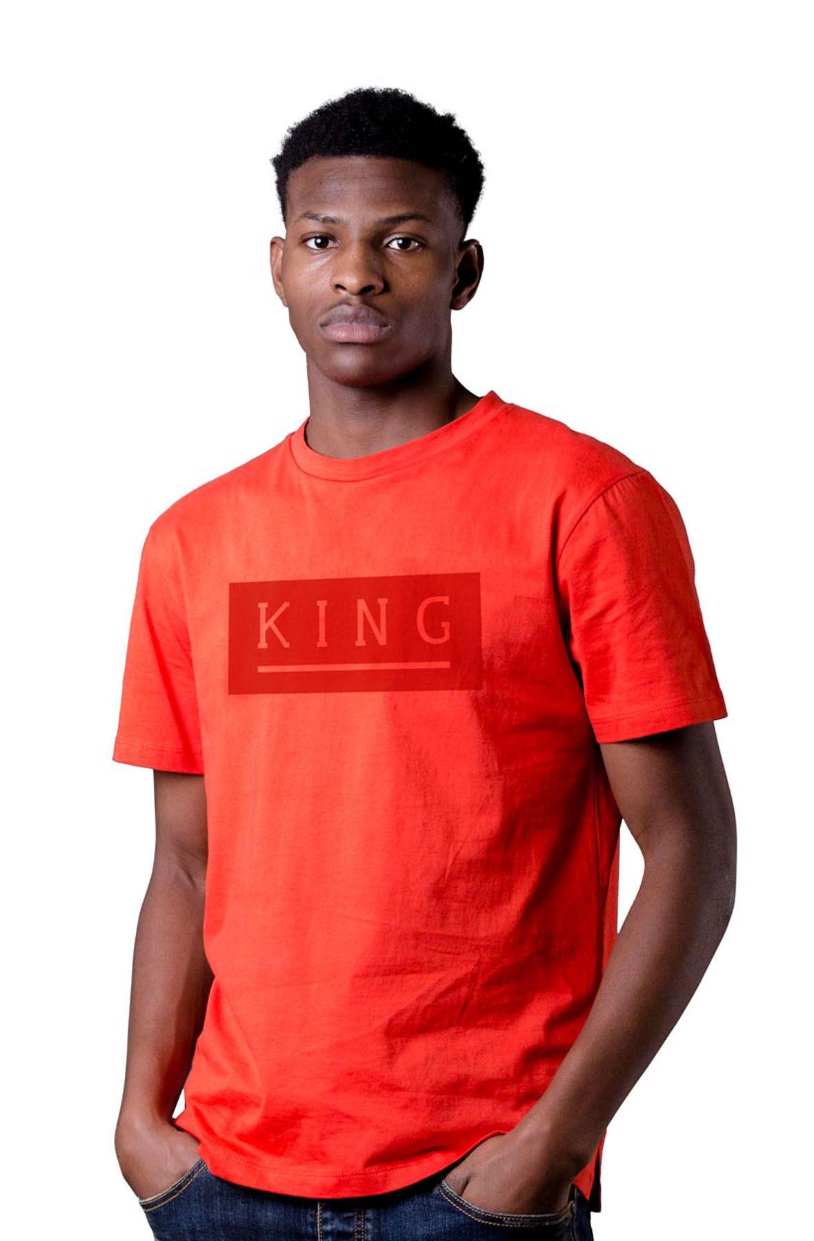 Image of Manor T-shirt - Crimson