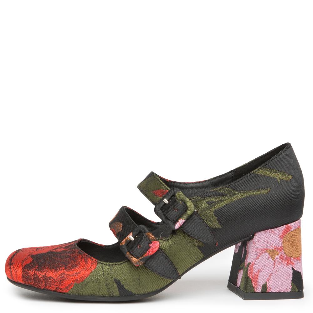 bickle floral heels