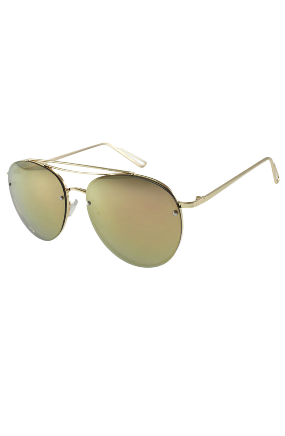 Image of The Biscayne Sunglasses in Pink Mirror